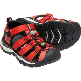 Keen Newport Neo H2 Sandalias Niños, fiery red/golden rod